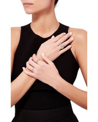Sabine G - Green Topaz Wiggly Band Ring - Lyst