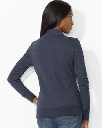 Ralph Lauren - Blue Lauren Double Breasted Jacket - Lyst