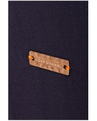 BOSS Orange - Blue Viscose Blouse 'esmile' - Lyst