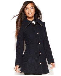 Jessica Simpson Blue Walker Coat