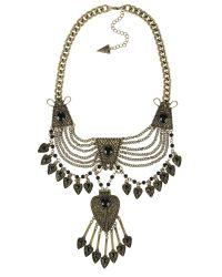 Ziba | Metallic Alice Necklace | Lyst