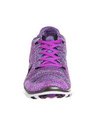 Nike - Purple Free Tr Flyknit - Lyst