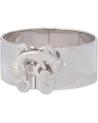 Eddie Borgo | Metallic Hook Latch Cuff | Lyst