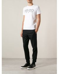 KENZO White ' Paris' T-Shirt for men