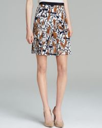 Marc By Marc Jacobs Multicolor Skirt Nightingale Printed Silk