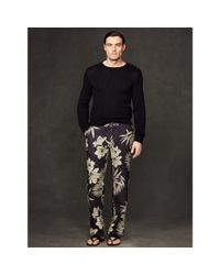 Ralph Lauren Purple Label - Multicolor Safari Linen Drawstring Pant for Men - Lyst