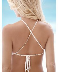 Free People Natural She Made Me Womens Daisy Chain Halter