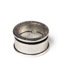 Cheap Monday - Metallic Ny Ring - Silver for Men - Lyst