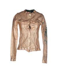 Giorgio Brato   Metallic Jacket   Lyst