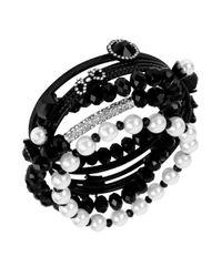 Betsey Johnson | Black Assorted Bracelet Set | Lyst