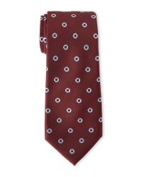 Vince Camuto | Purple Aphrodite Neat Silk Tie for Men | Lyst