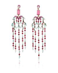 Wendy Yue | Multicolor Chandelier Earrings | Lyst