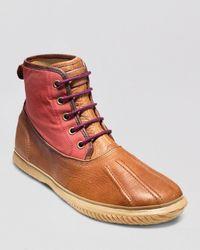 Cole Haan Brown Trenton Weather Boots for men