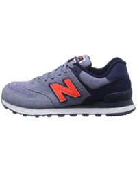 New Balance | Purple 574 - Sweatshirt | Lyst