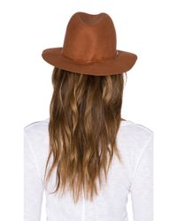 Hat Attack - Brown Avery Modern Hat - Lyst