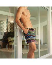 Mr Turk Multicolor Zuma Beach Swim Trunk for men
