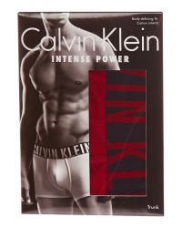 Calvin Klein | Red Intense Power Cotton Trunk for Men | Lyst