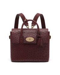 Mulberry - Red Cara Delevingne Bag - Lyst