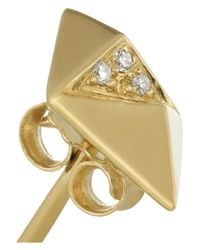 Maria Black - Metallic Billy 18-Karat Gold Diamond Earrings - Lyst