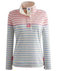 Joules Multicolor Cowdray Stripe Sweatshirt