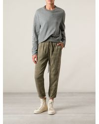 Current/Elliott Green Camouflage Trousers