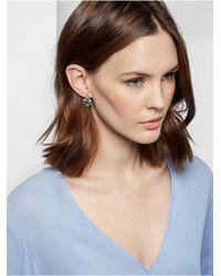 BaubleBar | Blue Poinsettia Studs | Lyst