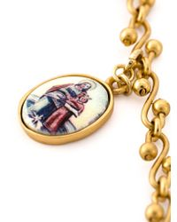 Dolce & Gabbana | Metallic Crucifix Charm Pendant Necklace | Lyst