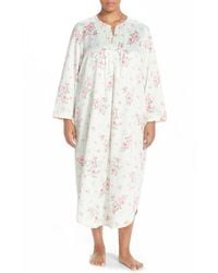 Carole Hochman | Multicolor Satin Long Nightgown | Lyst