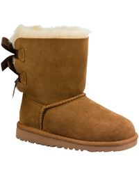 UGG Brown Bailey Bow Boots