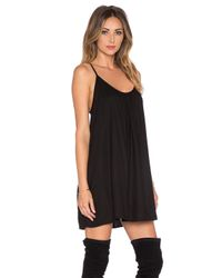 Lovers + Friends Black X Revolve Fly Away Mini Dress
