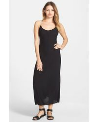 Volcom - Black '21St Century' Maxi Dress - Lyst