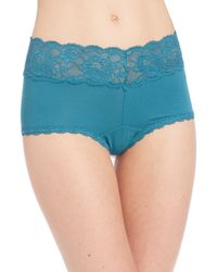 Cosabella | Blue Never Say Never Ultra-stretch Boyshorts | Lyst