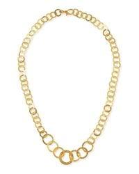 Gurhan | Metallic Hoopla 24k Gold Infinity Necklace | Lyst