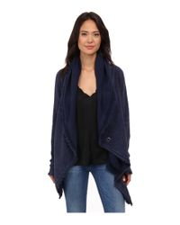 Free People - Blue The Big Chill Cardigan - Lyst