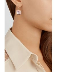 Larkspur & Hawk - Metallic Bella 14-Karat Gold Quartz Earrings - Lyst