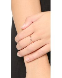 House of Harlow 1960 | Pink Arid Ring - Rose Gold | Lyst