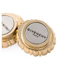Givenchy | Green Gemstone Earrings | Lyst