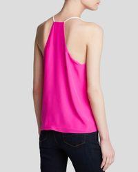 Townsen Pink Cami - Papaya Silk