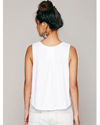 Free People - White We The Free Womens We The Free Bungalow Tank - Lyst