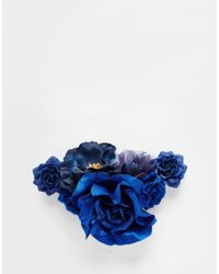 ASOS - Blue Night Roses Multiway Hair & Body Corsage - Lyst