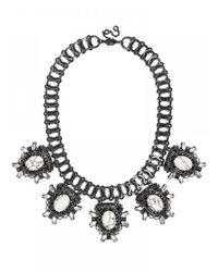 BaubleBar | Metallic Howlite Alchemist Collar | Lyst