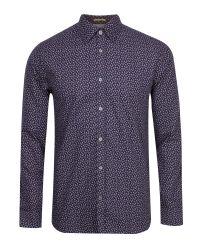 Ted Baker - Purple Organix Long Sleeve Shirt for Men - Lyst