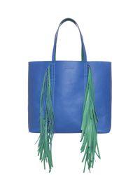Sara Battaglia - Blue Everyday Shopper Tote - Lyst