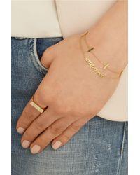 Jennifer Meyer | Metallic Empower 18-karat Gold Bracelet | Lyst