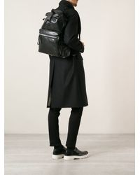 Lanvin - Black Classic Backpack for Men - Lyst