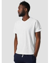 Todd Snyder Classic Crewneck T-shirt Standard White for men