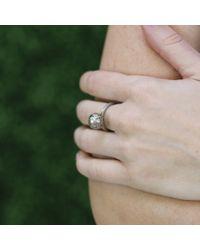 Todd Reed - Metallic Tahitian Pearl And Autumn Diamond Ring - Lyst