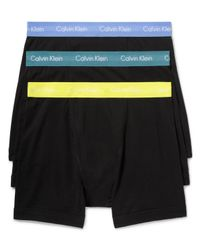 Calvin Klein - Black Classic Boxer Briefs, Pack Of 3 for Men - Lyst