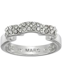 Marc By Marc Jacobs - Metallic Diamonds And Daisies Daisy Window Ring - Lyst