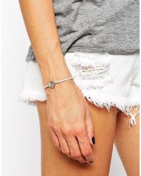 Rachel Roy - Metallic Ying Yang Charm Slider Friendship Bracelet - Lyst